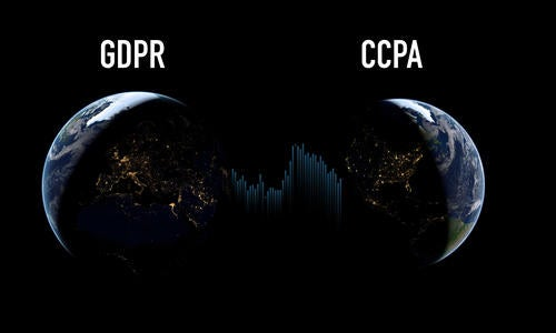 Compare CCPA vs GDPR: How It Affects Your Site article image.